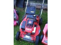 Kubota petrol Lawnmower ..spares repair .. £45 !