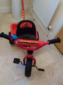 Mud Monster Toddler Bike Used once Like new