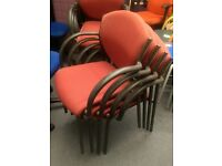 Office stacking chairs / office reception chairs / office meeting chairs