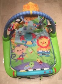 Fisher price kick and play mat/gym
