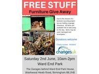 Free Furniture - Warehouse Clearance
