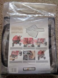 Out 'n' About Nipper carrycot XL rain cover - brand new