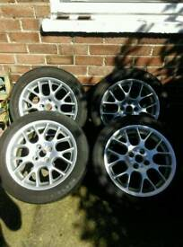 16s Alloy wheels 4x100