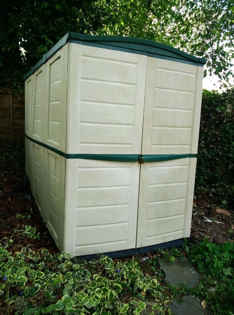lockable keter garden shedstorage