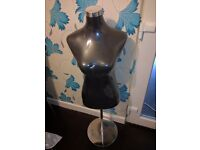 Black felt/velvet mannequins (new)