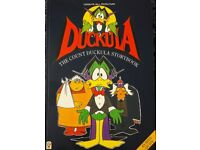 The Count Duckula Story Book/books - Packaging costs are free if posted