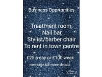 Business Opportunities!! Hair/beauty/barbering/nail tech.