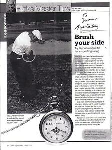 NICE 7X4 B7W PHOTO BYRON NELSON SWINGING A GOLF CLUB London Ontario image 1