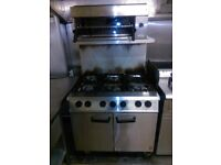 6 Hob Gas Commercial Gas Cooker