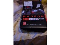 Graphics card AMD Saphire RX480 8 gb