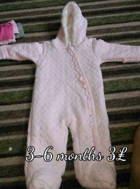 Various baby pram suits