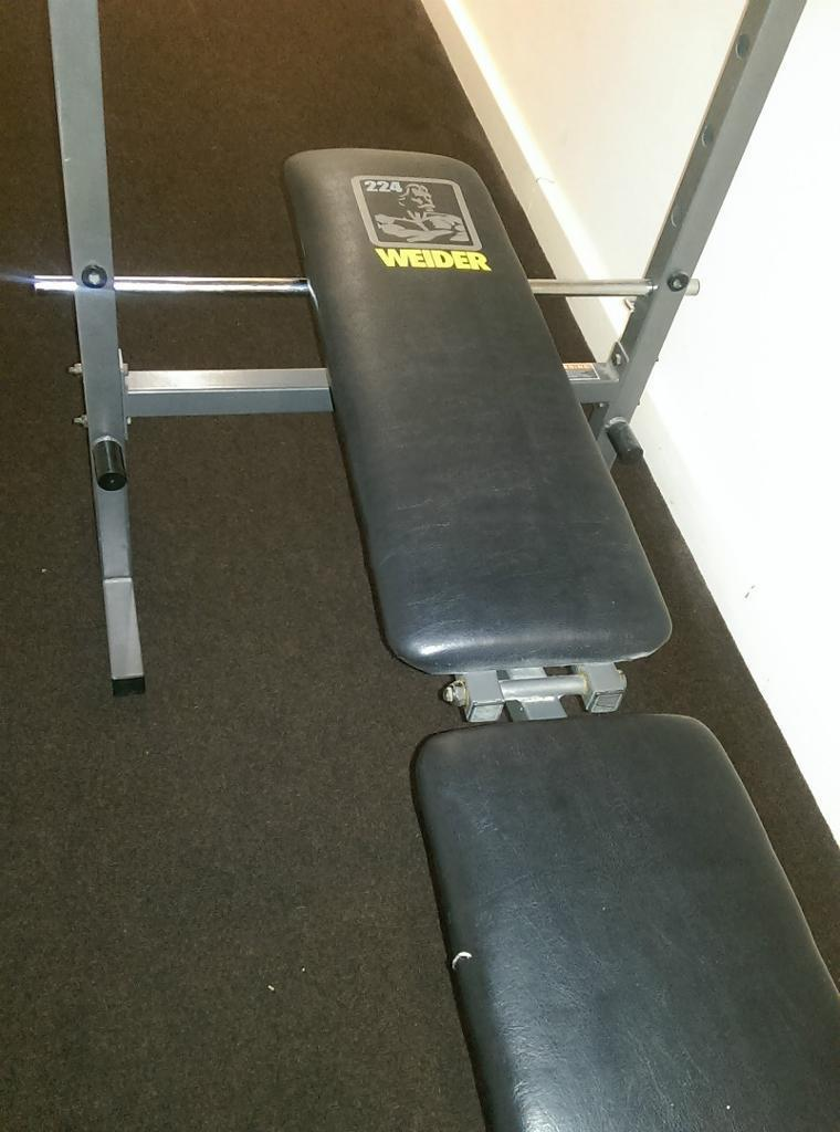 Weider 170 Weight Bench Part - 37: ... Weider Benches By Weider 224 Foldable Weight Bench 15 00 In Croydon  London Gumtree ...