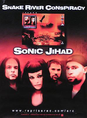 Sanke River Conspiracy 2000 Sonic Jihad Original Promo Poster