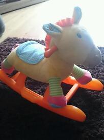 Giraffe rocking horse