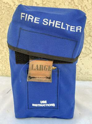 New Generation Forest Wildland Fire Shelter - Large Size - Mfg Date 2007