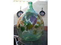 rare decrative glass jar