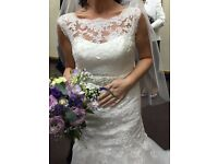 Absolutely stunning vintage style designer wedding dress