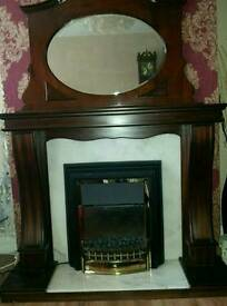 Fire Place & Electric Fire Traditional & Mirror