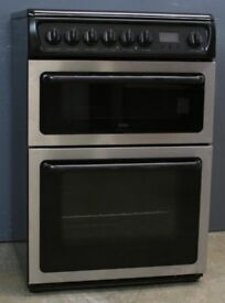 Cooker - Hotpoint + 12 Months Warranty - Great Condition - BEC12777