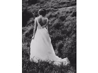 LACE TULLE WEDDING DRESS 8-10 PERFECT CONDITION maggie sottero