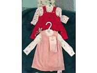 Baby girls clothes bundle. sizes 0-3, 3-6, 6-9 months