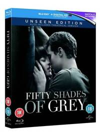 50 Shades of Grey - Unseen Edition - BluRay DVD