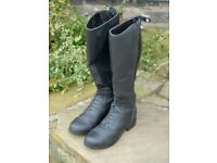 Riding Boots - Children's size 4 medium - Ariat