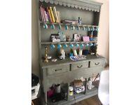 Shabby Chic Dresser Pale Blue/Grey