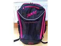 Zoot triathlon transition bag, unused - brand new in original wrapping