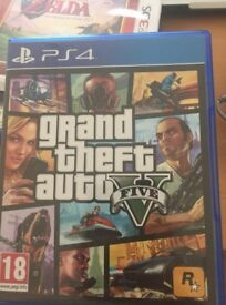 GTA 5 for Playstation 4