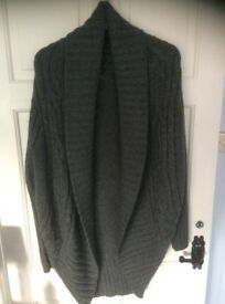 Pied A Terre medium grey cardigan