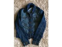 Girls denim jacket age 9 to 10
