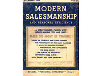 'Vintage 1930's Business Magazines' (efficency/sales) (several available)