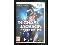 Wii Game - 'Michael Jackson The Experience'