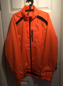 Muddyfox Men's Cycling Jacket, Orange, X Large BNWOT