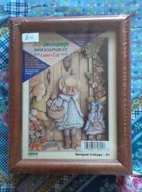 """Marigold Cottage"" decoupage kit"
