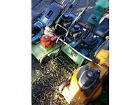 Lawnmowers joblot spares or repair