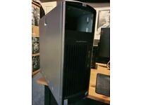 HP computer desktop XW6400 Quadcore Intel Xeon E5335 4GB 320GB HDD 500w psu x2
