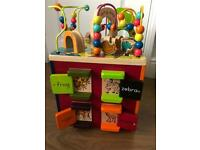 Zany Zoo Wooden Toy Activity Cube Baby Toddler