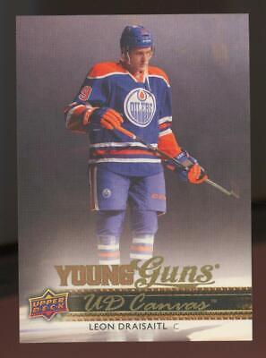 2014 Upper Deck Young Guns Canvas #C104 Leon Draisaitl RC Rookie