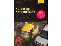 Corporate responsibility Michael Blowfield and Alan Murray 2nd edition