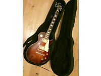 Vintage : Yamaha Les Paul (Gibson head stock) + as new, shaped case