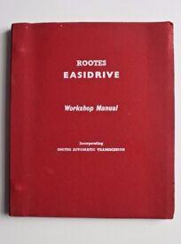 Rootes Easidrive Workshop Manual