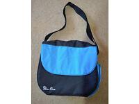 Silver Cross Blue & Black Changing Bag