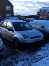 Ford Fiesta lx for sale. 53 reg, silver, 5 door