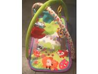 Baby swing chair and play mat