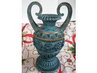 large resin urn vase