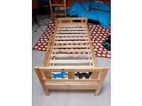"Ikea ""Kritter"" child's bed"