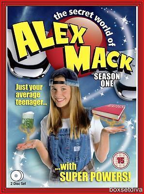 The Secret World Of Alex Mack   Complete Season 1   Brand New Dvd