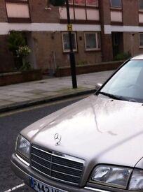 Mercedes C-Class Saloon 180 Elegance- 1799CC, PETROL, 4 DOOR, AUTO, 1996